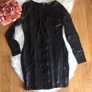 Dresses & Skirts - Cut out mesh black dress